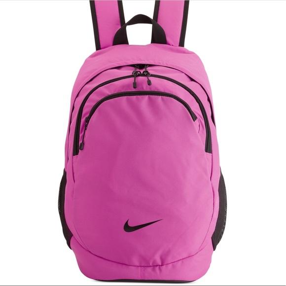 f7f54a1bd3 Pink Nike Backpack •. M 5a55ac2da4c4851e3d0877cc